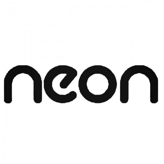 Neon Decal Sticker