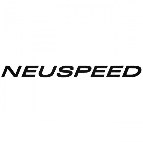 Neuspeed S Vinl Car...