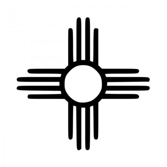 New Mexico Zia Symbol Vinyl...