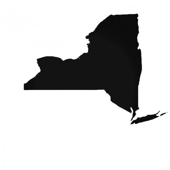 New York Ny State Decal...
