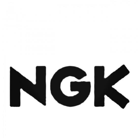 Ngk Aftermarket Decal Sticker