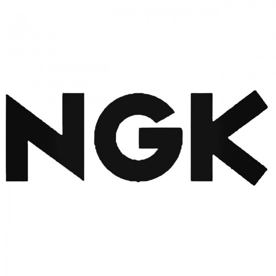 Ngk Spark Plugs 02 Decal...