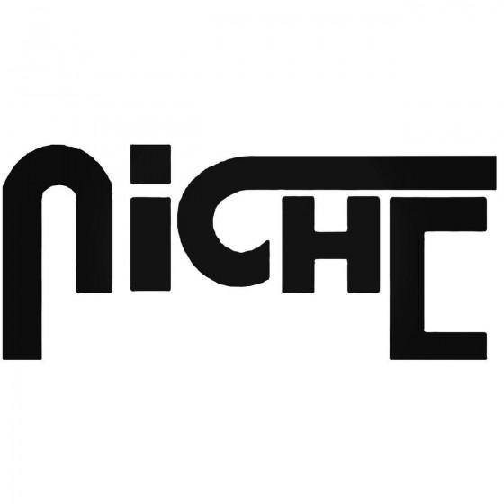 Niche Vinyl Decal