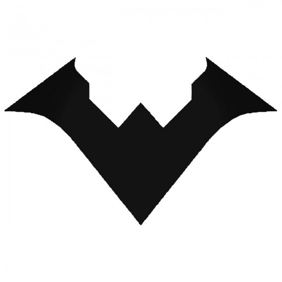 Nightwing Logo Decal Sticker