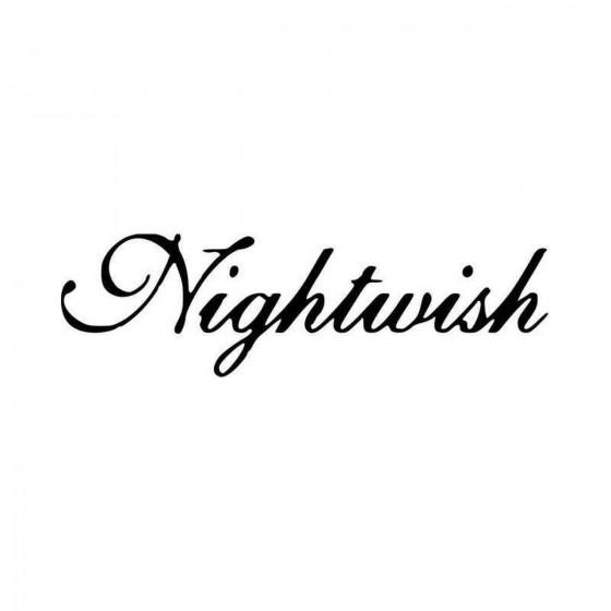Nightwish Vinyl Decal Sticker