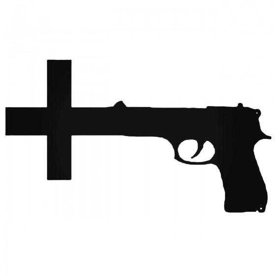 Nine Inch Nails Gun Cross...
