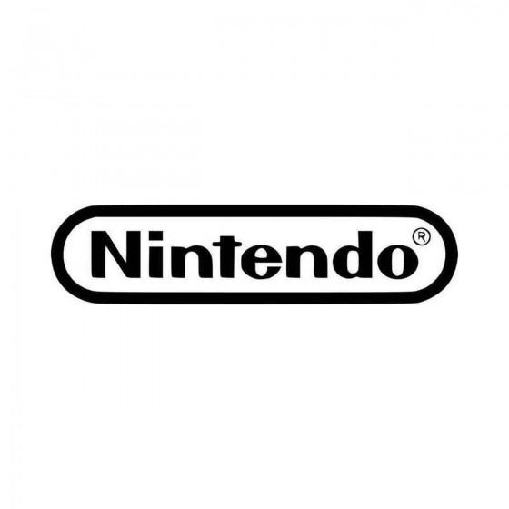 Nintendo Logo Vinyl Decal...
