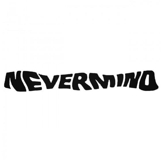 Nirvana Nestyle Mind Decal...