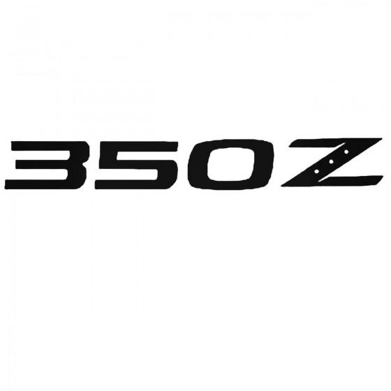 Nissan 350z Set Decal Sticker