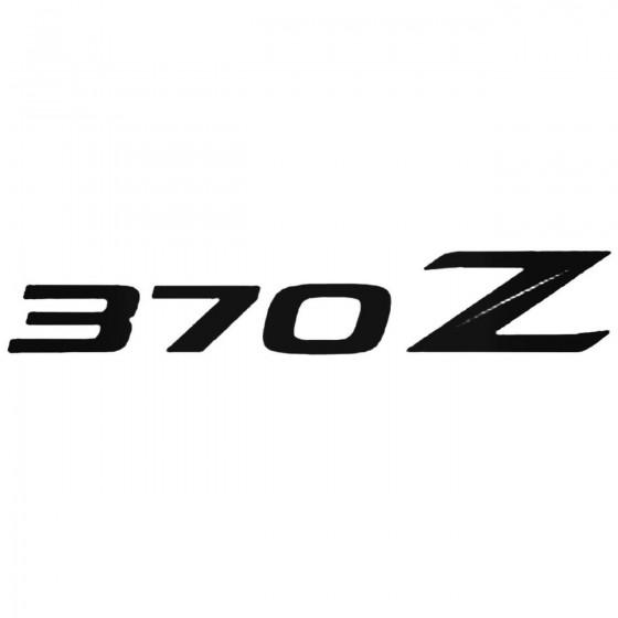 Nissan 370Z Decal Sticker