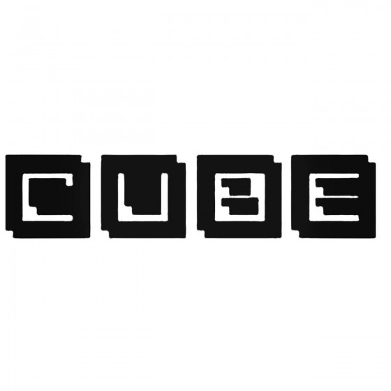 Nissan Cube Decal Sticker