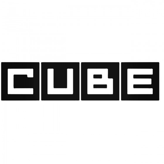 Nissan Cube Decal Sticker 1
