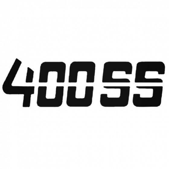 400 Ss Sticker