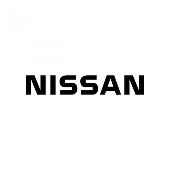 Nissan Ecriture Vinyl Decal...