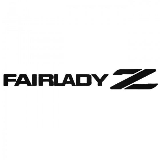Nissan Fairladyz Decal Sticker