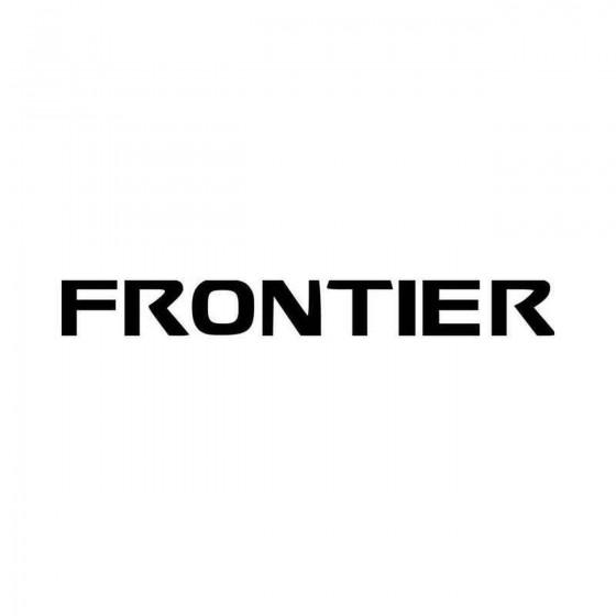 Nissan Frontier Vinyl Decal...