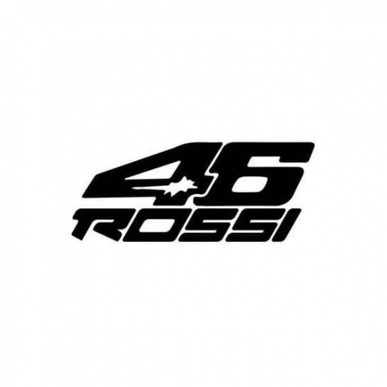 46 Rossi Sticker