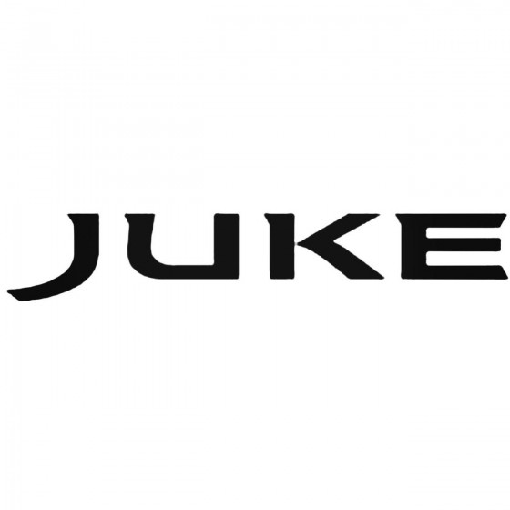 Nissan Juke Decal Sticker 1