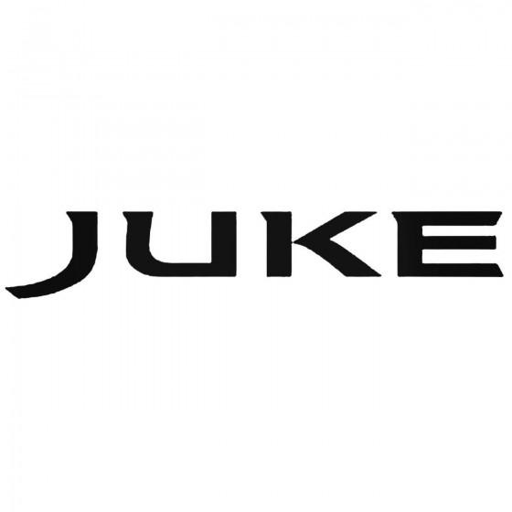 Nissan Juke Logo Decal Sticker