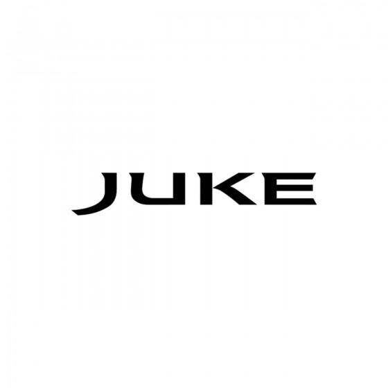 Nissan Juke Vinyl Decal...
