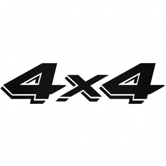 4x4 1 Decal Sticker