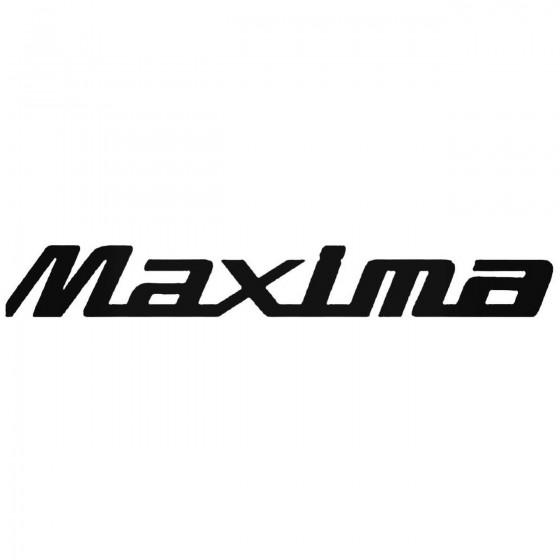 Nissan Maxima Decal Sticker