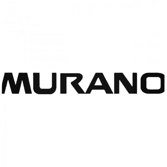 Nissan Murano 2 Decal Sticker