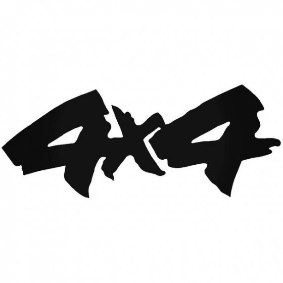 4x4 2 Decal Sticker