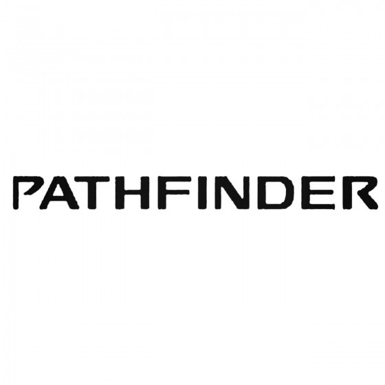 Nissan Pathfinder Decal...