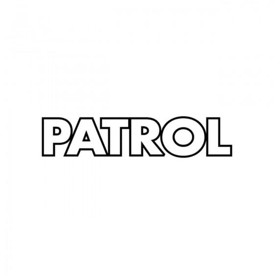 Nissan Patrol Contours...