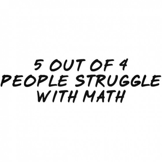 5 Out Of 4 People Struggle...