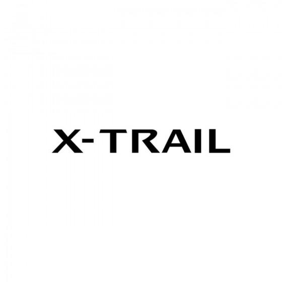 Nissan X Trail Logo Vinyl...