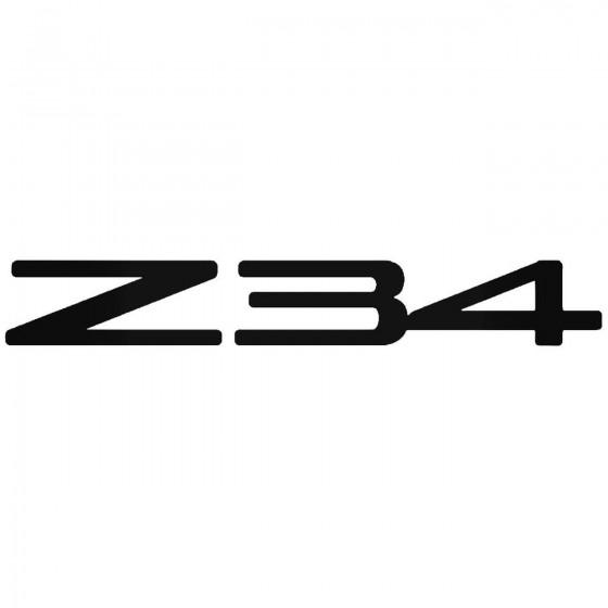 Nissan Z34 Vinyl Decal Sticker