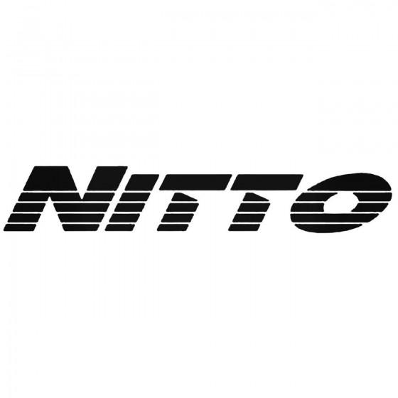 Nitto 2 Graphic Decal Sticker
