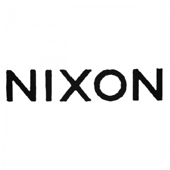 Nixon Text Decal Sticker