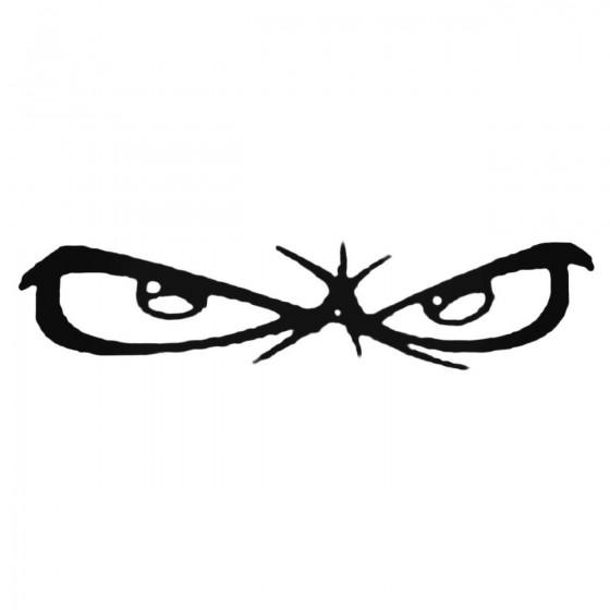 No Fear Eyes Logo Decal...