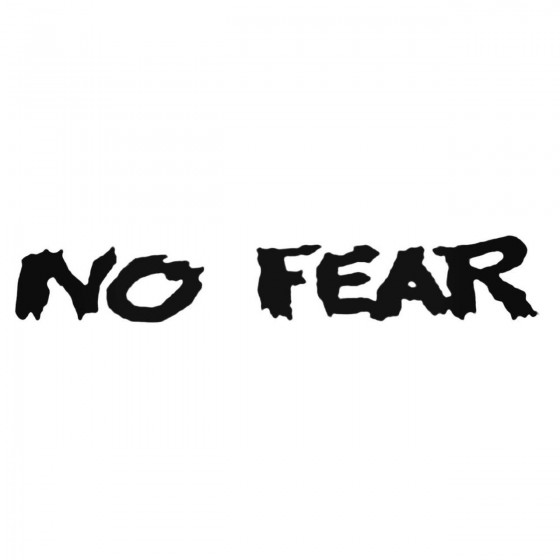 No Fear Style 2 Decal Sticker