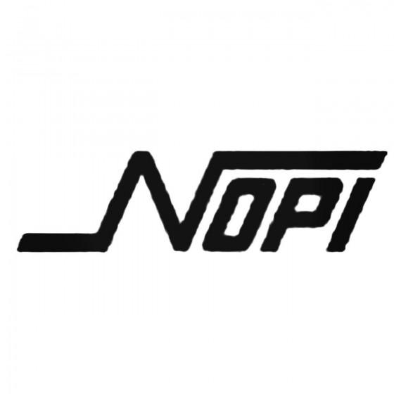 Nopi Decal Sticker