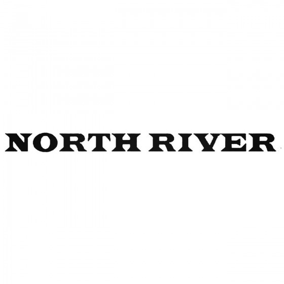 North Ristyle Diecut Decal...