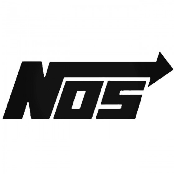 Nos Nitrous Ln Decal Sticker