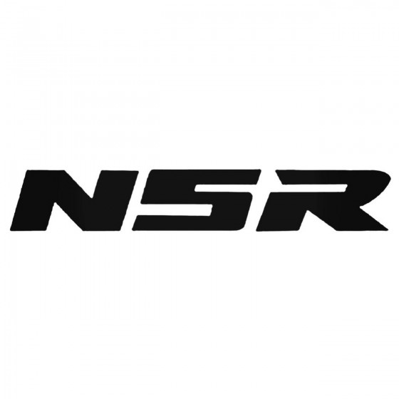 Nsr Decal Sticker