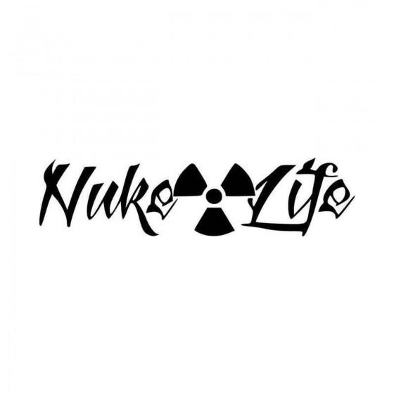 Nuke Life Radiation Symbol...