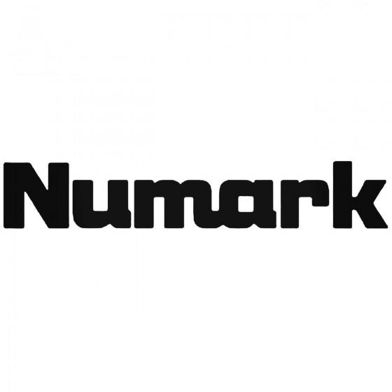 Numark Logo Vinyl Decal...