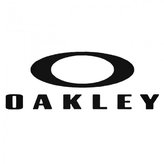 Oakley Aftermarket Decal...