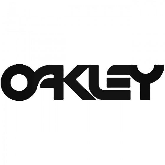 Oakley B Decal Sticker