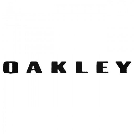 Oakley Fresh Decal Sticker