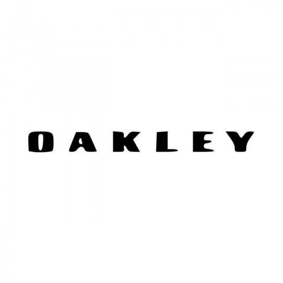Oakley Fresh Logo Vinyl...