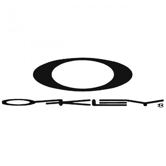 Oakley Logo 2 Decal Sticker 1