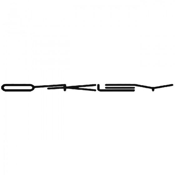 Oakley Logo 3 Vinyl Decal...