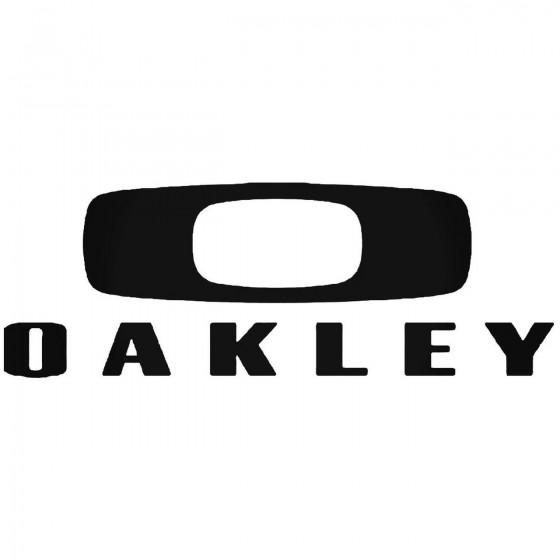 Oakley Logo 6 Vinyl Decal...